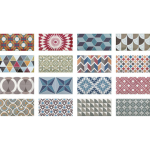 METRO Patchwork Colours 7,5x15 (EQ-10D)(1bal=0,5m2) 20922