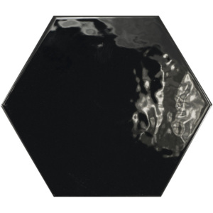 HEXATILE Negro Brillo17,5x20 (EQ-4) (20525)