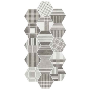 HEXATILE CEMENT Geo Grey17,5x20 (EQ-21) (22101)