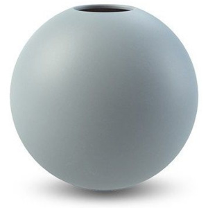 Kulatá váza Ball Dusty Blue 10 cm