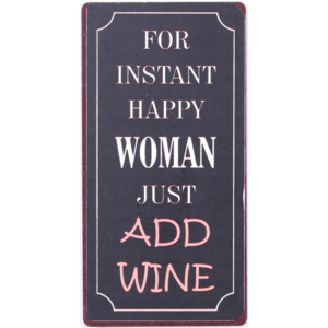 Magnet For instant happy woman