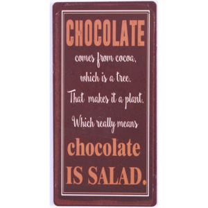 Magnet Chocolate is salad