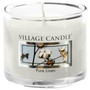 Mini svíčka Village Candle - Pure Linen