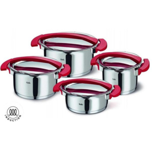 Sada nádobí nerez Magic Red 8 ks - Fissler