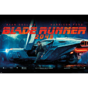 Plakát, Obraz - Blade Runner 2049 - Flying Car, (91,5 x 61 cm)