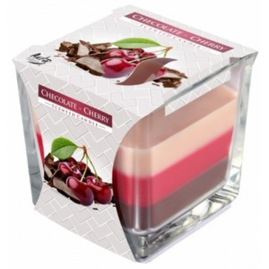 Svíčka Bispol Chocolate Cherry 170 g