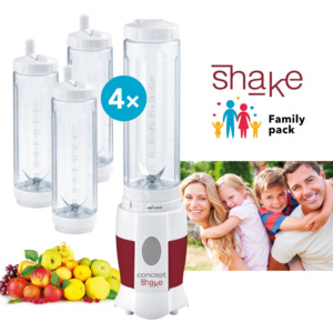 Concept SM-3354 Smoothie maker, 4 láhve