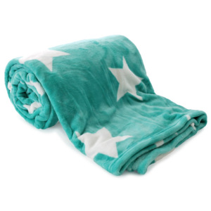 JAHU Deka Light sleep New Stars Mint, 150 x 200 cm