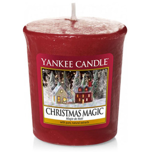 Yankee Candle – votivní svíčka Christmas Magic 49 g