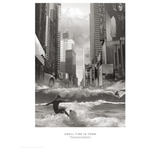 Obraz, Reprodukce - Thomas Barbey - Swell Time In Town, (60 x 80 cm)