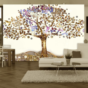 Fototapeta - Golden Tree - 200x140