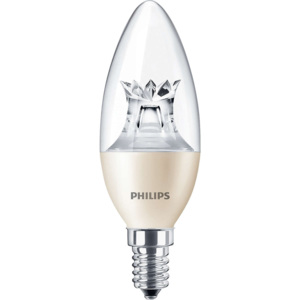 Philips Massive 8718696453506 MASTER LEDcandle DT 6-40W E14 827 B38 CL