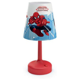 Philips Massive 71796/40/P0 NOV 2017 DISNEY PŘENOSNÁ LAMPA STOLNÍ Spiderman