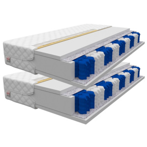 EuroSleep Matrace Eurosleep Treviso 1+1 - 80x200 Square
