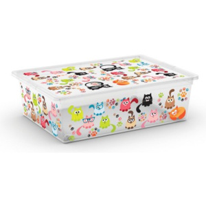 KIS Kis C Box Style L, Cute Animals, 27l