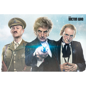 Plakát, Obraz - Doctor Who - Twice Upon A Time, (91,5 x 61 cm)