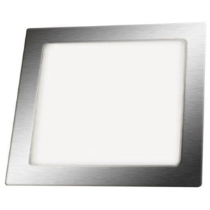 SPLED LED Panel vestavný 12W 860lm 170X170mm 230V Chrom Studená