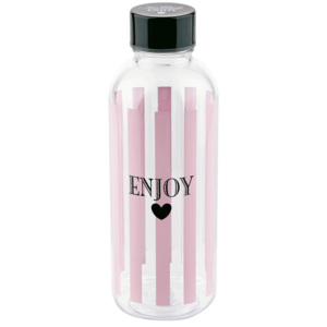 Lahev na vodu Miss Étoile Enjoy Stripes, 600 ml