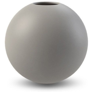 Kulatá váza Ball Grey 20 cm