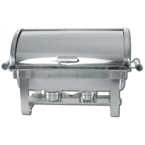 Chafing roll-top