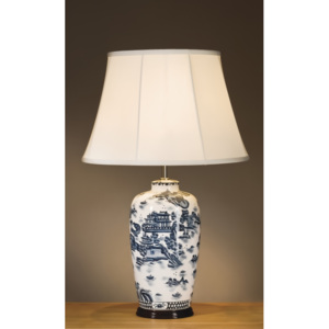Stolní lampa Blue Trad Willow