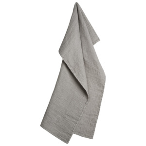 Georg Jensen Damask Utěrka light grey 70 x 50 cm LINEN
