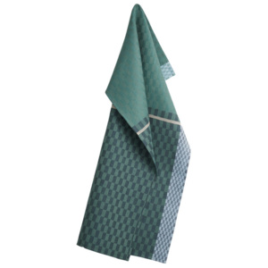 Georg Jensen Damask Utěrka petrol green 80 x 50 cm COLOURS