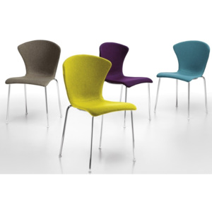 INFINITI - Židle GLOSSY UPHOLSTERED