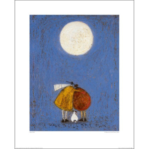 Obraz, Reprodukce - Sam Toft - A Moon To Call Their Own, (30 x 40 cm)