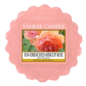 Yankee Candle – vonný vosk Sun Drenched Apricot Rose 22 g