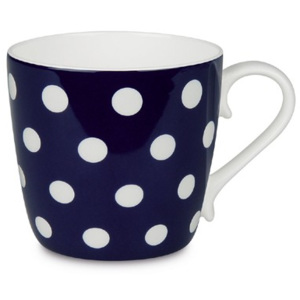 Hrnek Colours/Polka dots/dark blue