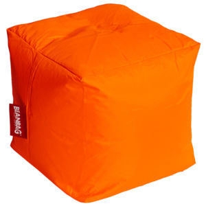 Sedací vak Cube - fluo orange