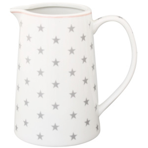 Porcelánový džbán Grey star 850 ml (JU11)