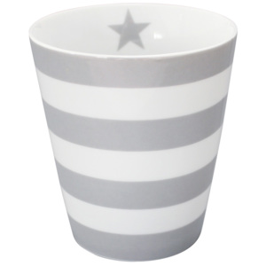 Porcelánový hrnek Stripes Grey 330 ml (HM190)
