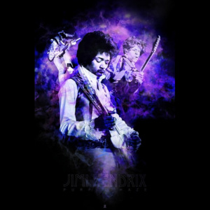 Plakát - Hendrix (Purple haze Smoke)