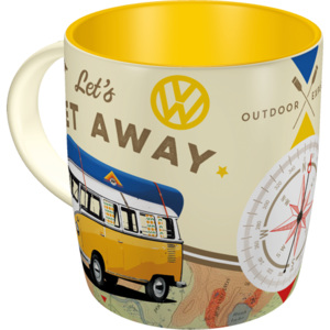 Nostalgic Art Hrnek - VW Bulli Let's Get Away! 330 ml