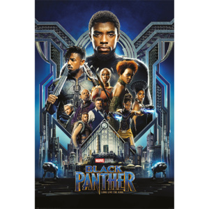 Plakát, Obraz - Black Panther - One Sheet, (61 x 91,5 cm)