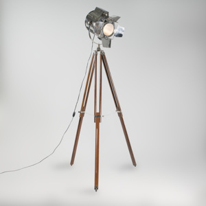 Stojací lampa Tripod Studio Cromo and Brown