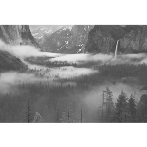 Umělecká fotografie Fog Floating In Yosemite Valley, Hong Zeng