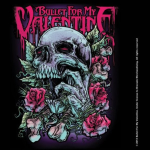Podtácek Bullet For My Valentine - Spenc Skull Red Eyes