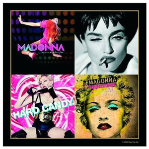 Podtácek Madonna – Album Montage Inc Hard Candy & Celebration