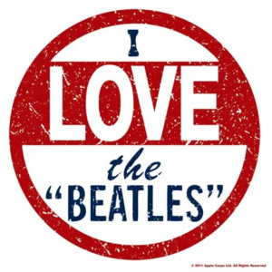 Podtácek The Beatles – I Love The Beatles