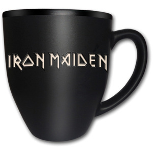 Hrnek Iron Maiden – Tails Logo Matt Engraved