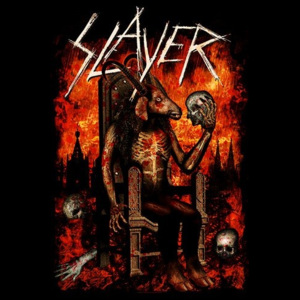 Textilní plakát Slayer – Devil On Throne