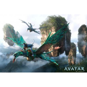 Plakát, Obraz - Avatar limited ed. - flying, (91,5 x 61 cm)