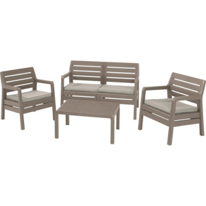 Allibert DELANO LOUNGE set cappuccino
