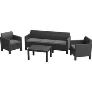 Allibert ORLANDO 3 SOFA - grafit
