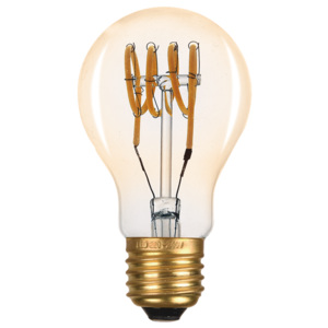 ACA DECOR EDISON LED žárovka A60 GOLD
