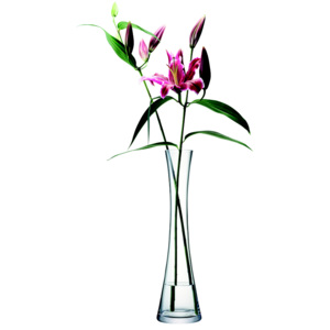 LSA INTERNATIONAL LSA Flower Tall single stem váza 50cm čirá