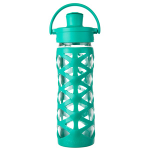 Lifefactory láhev ACTIV uzávěr 475 ml Aquatic Green